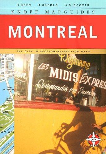 9780307265869: Knopf MapGuide: Montreal (Knopf Mapguides)