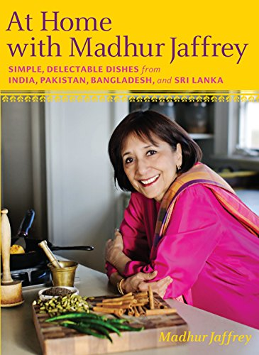 9780307268242: At Home with Madhur Jaffrey: Simple, Delectable Dishes from India, Pakistan, Bangladesh, and Sri Lanka