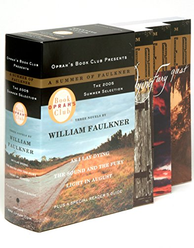 9780307275325: Oprah's Book Club 2005 Summer Selection a Summer of Faulkner: As I Lay Dying/The Sound and the Fury/Light in August (Vintage International)