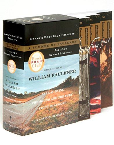 A Summer of Faulkner As I Lay: Faulkner, William
