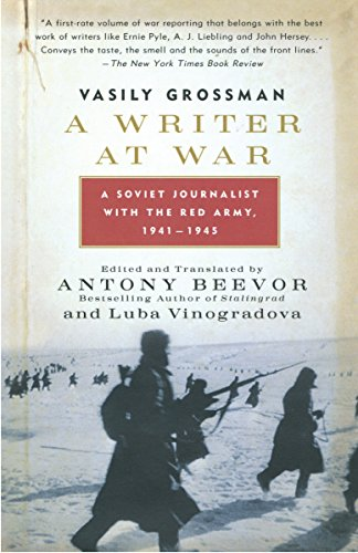 9780307275332: A Writer at War: A Soviet Journalist with the Red Army, 1941-1945