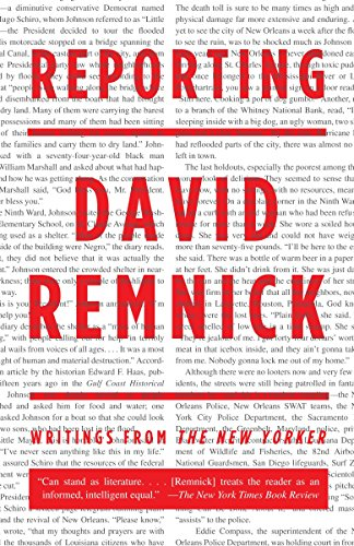 9780307275752: Reporting: Writings from the New Yorker