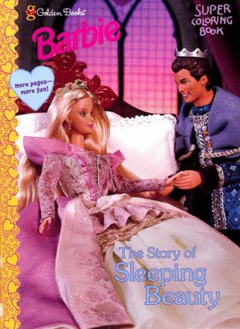 9780307280145: Sleeping Beauty (Barbie Super Coloring Books)
