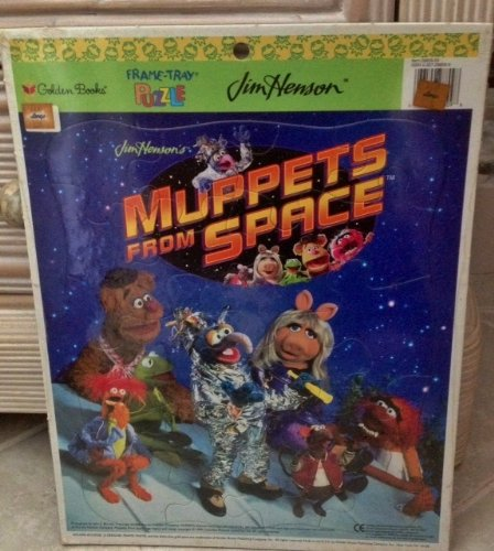 9780307288097: Muppets from Space (Large Frame Tray Puzzle)