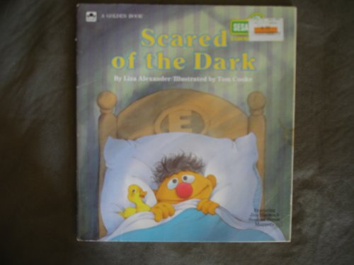 Scared of the Dark-Sesame Street Growing-Up Book: Lisa, Illustrated by