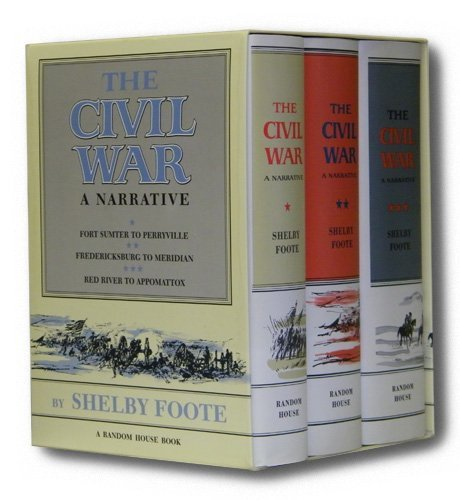 9780307290380: The Civil War a Narrative 3 Vols in Slipcase