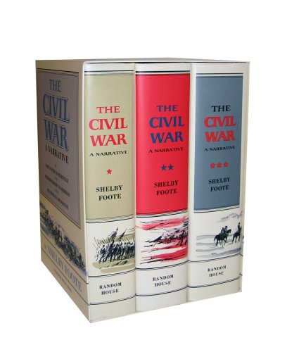 The Civil War: A Narrative (3 Volume Set): Foote, Shelby