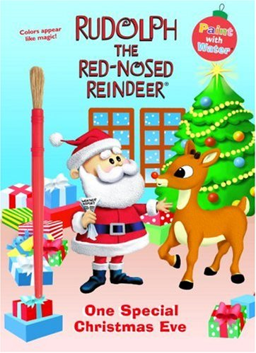 9780307290571: One Special Christmas Eve (Rudolph the Red-Nosed Reindeer) (Paint with Water)