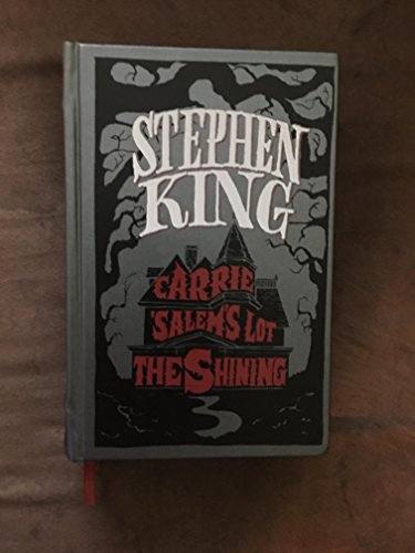 9780307292056: Stephen King: Three Novels - Carrie, Salems Lot, The Shining [Leather Bound]