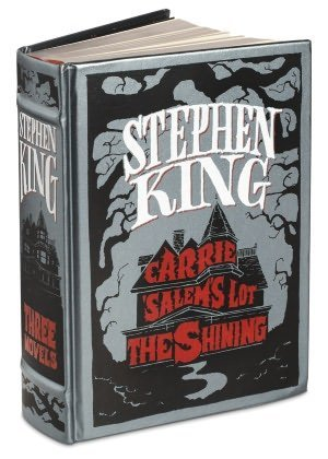 Stephen King: Three Novels - Carrie, Salem's Lot, The Shining