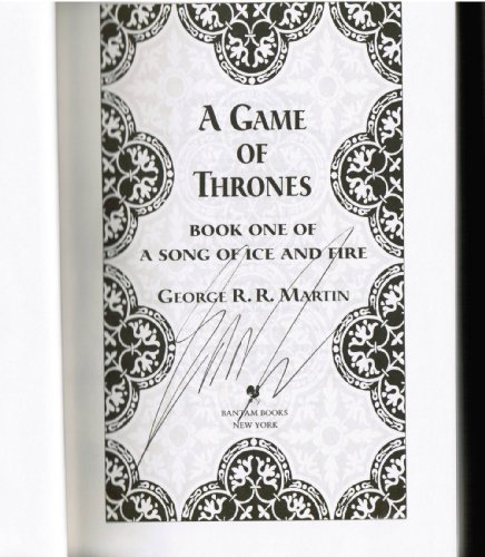 9780307292094: A Game of Thrones Deluxe Edition (A Song of Ice and Fire #1) (A Barnes and Noble Exclusive)