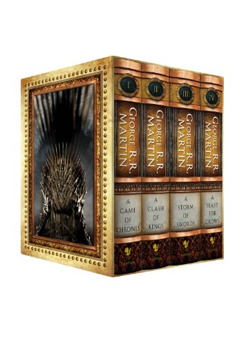 9780307292131: The George R.R. Martin Song Of Ice and Fire Hardcover Box Set featuring A Game of Thrones, A Clash of Kings, A Storm of Swords, and A Feast for Crows (Amazon Exclusive) (Song of Fire and Ice)