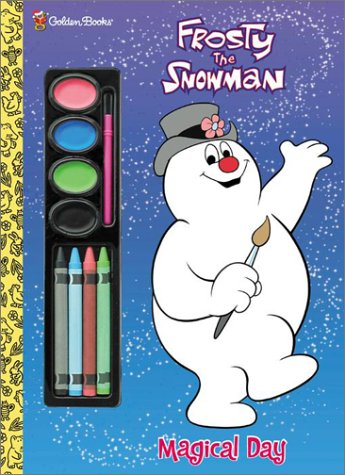 Frosty the Snowman (Painting Time): Golden Books