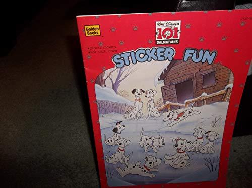 9780307300263: 101 Dalmatians Sticker Fun