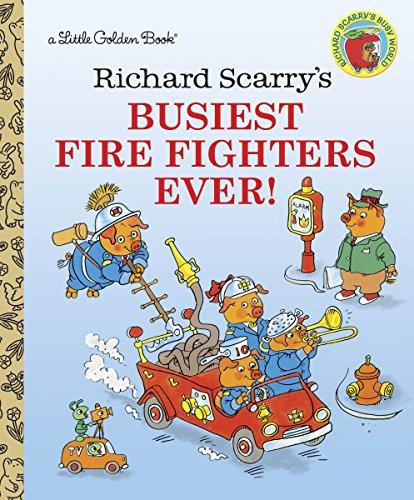 9780307301406: Richard Scarry's Busiest Firefighter Ever! (Little Golden Books)
