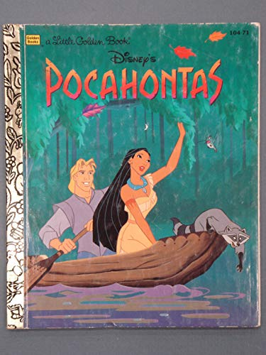 9780307302007: Disney's Pocahontas (A Little Golden Book)