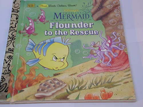 9780307302045: Disney's The Little Mermaid: Flounder to the Rescue