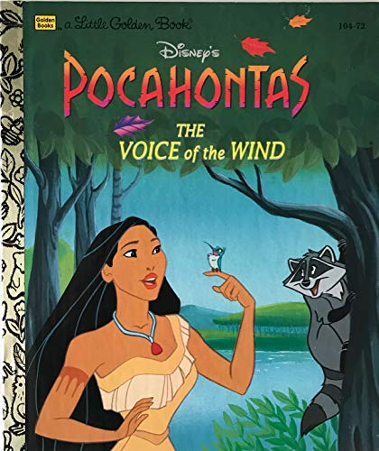 9780307302823: Disney's Pocahontas: The Voice of the Wind (Little Golden Book)