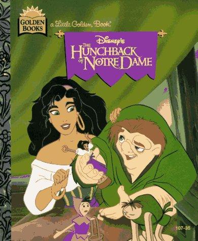 9780307302984: Disney's the Hunchback of Notre Dame (Little Golden Book)