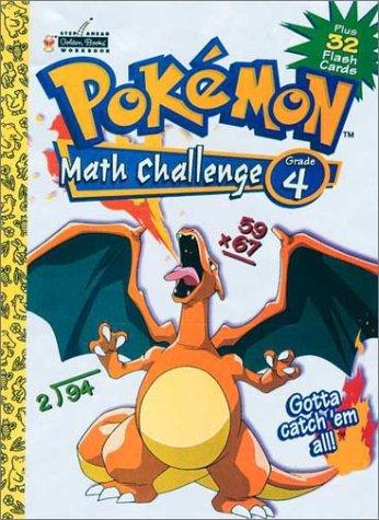 9780307306142: Pokemon Math Challenge Grade 4 Plus 32 Flash Cards