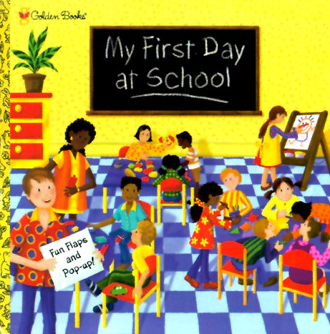 9780307331038: My First Day at School (Pop-Up Book)