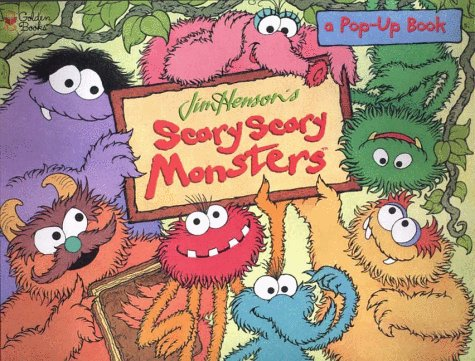 9780307332004: Jim Henson's Scary Scary Monsters: A Pop-Up Book