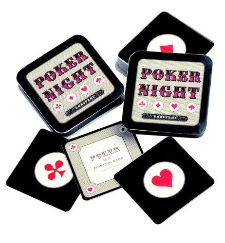 Poker Night Coasters: Style, Potter