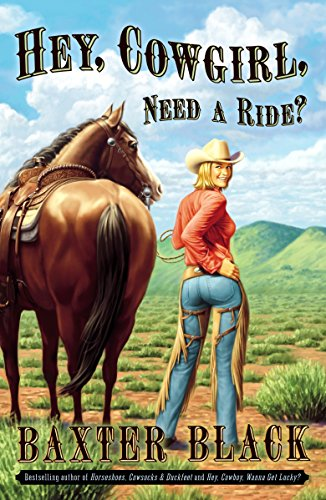 Hey, Cowgirl, Need a Ride? (0307338541) by Black, Baxter