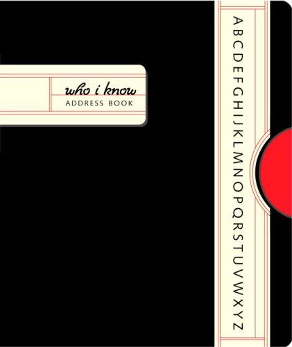 9780307338938: Who I Know Mini Address Book