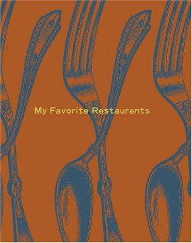 9780307342256: My Favorite Restaurants Mini Journal