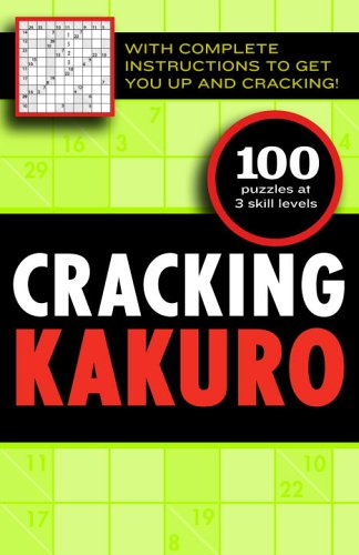 Cracking Kakuro: Editors of the Guardian