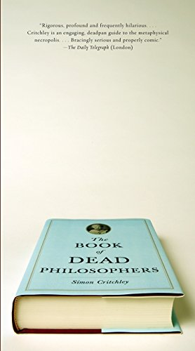 9780307390431: The Book of Dead Philosophers (Vintage)