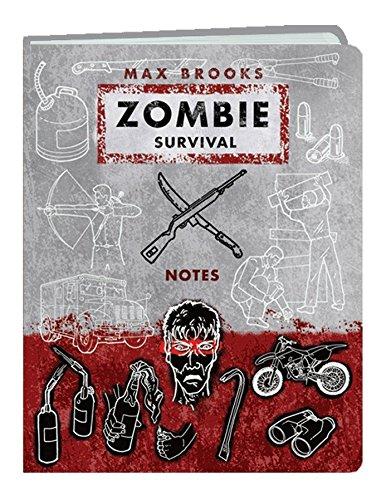 9780307406392: Zombie Survival Notes Mini Journal