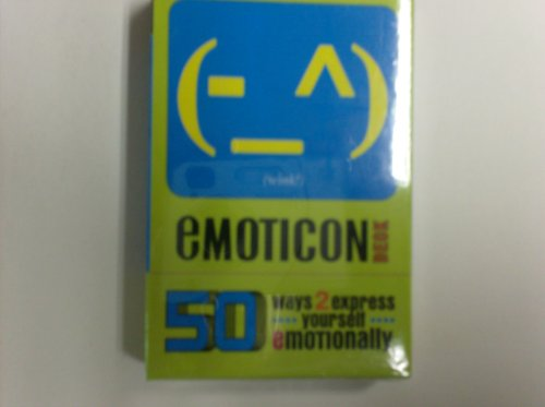 9780307406439: Emoticon Deck: 50 Ways to Express Yourself E-motionally