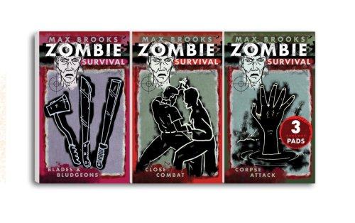 9780307406446: Zombie Survival Mini Note Pads