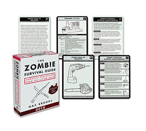 The Zombie Survival Guide Deck: Complete Protection from the Living Dead: Brooks, Max