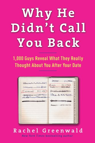 9780307406538: Why He Didn't Call You Back: 1,000 Guys Reveal What They Really Thought About You After Your Date