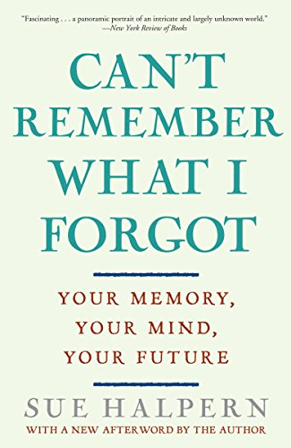 9780307407887: Can't Remember What I Forgot: Your Memory, Your Mind, Your Future