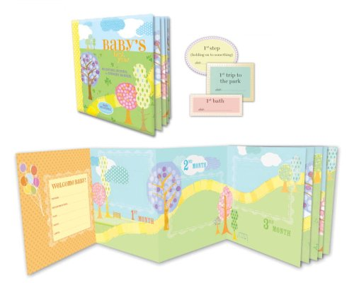 9780307408143: Baby's First Year Milestone Journal and Nursery Banner