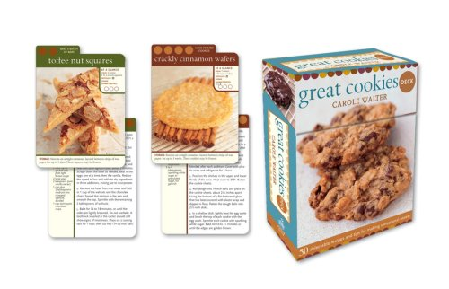 9780307408198: Great Cookies Deck: 50 delectable recipes and tips for making sensational sweets