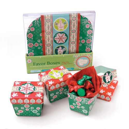 9780307408204: Jolly Holiday Favor Boxes: Everything You Need to Package Perfect Party Treats