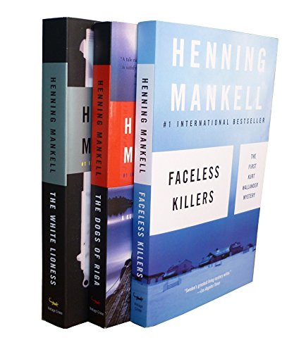 9780307448231: Henning Mankell Wallander Bundle: Faceless Killers, The Dogs of Riga, The White