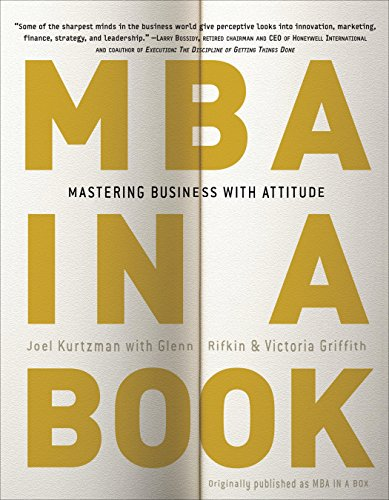 9780307451583: MBA in a Book: Mastering Business with Attitude