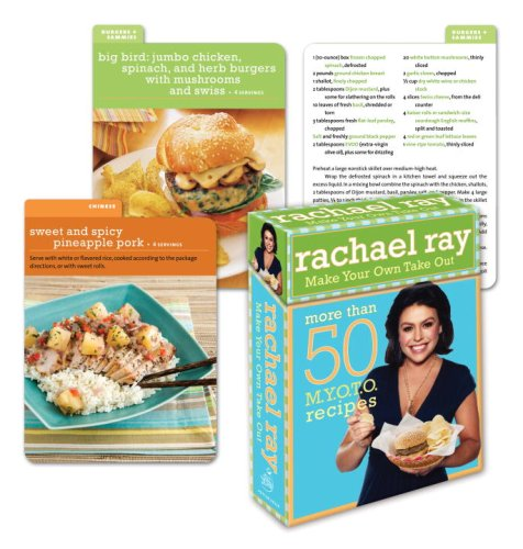 9780307460356: Rachael Ray Make Your Own Take-Out Deck: More than 50 M.Y.O.T.O. Recipes