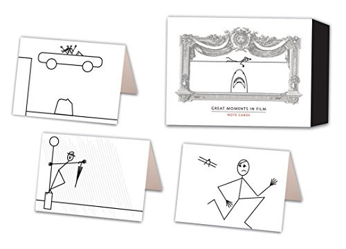 9780307460585: Great Moments in Film Note Cards