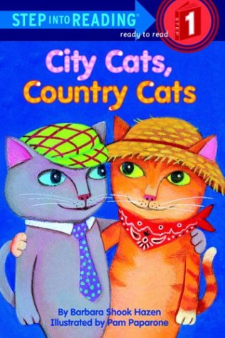 9780307461094: City Cats, Country Cats (Step-Into-Reading, Step 1)