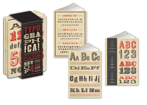 Typographica Pocket Pads: Potter Style