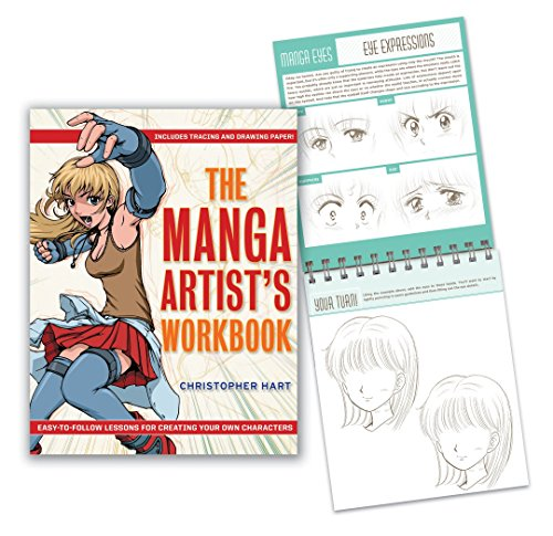 9780307462701: The Manga Artist's Workbook: Easy-To-Follow Lessons for Creating Your Own Characters