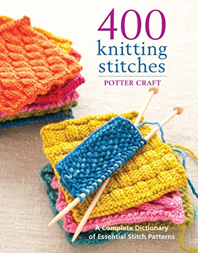 9780307462732: Potter Craft Books 400 Knitting Stitches POT-62732