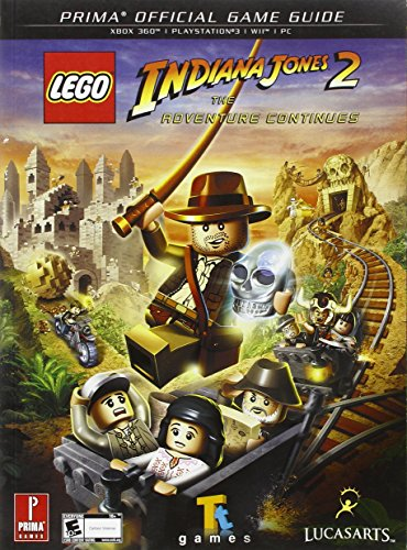 9780307465597: Lego Indiana Jones 2: The Adventure Continues (Prima Official Game Guides)